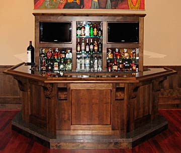 Wonderful Fabulous Wet Bar, Solid Wood
