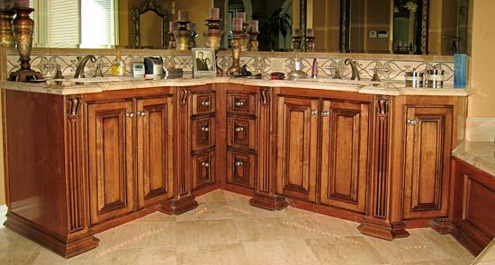 Custom Bathroom Vanities Los Angeles bathroom cabinets from darryn's custom cabinets serving los