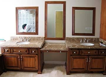 Bathroom Cabinets from Darryn's Custom Cabinets serving Los