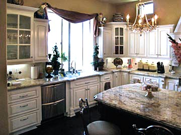 custom kitchen, solid wood cabinets