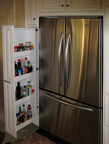 side drawer for frigerator