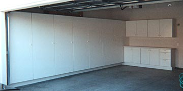 Medical Office Garage Storage And Formica Cabinets