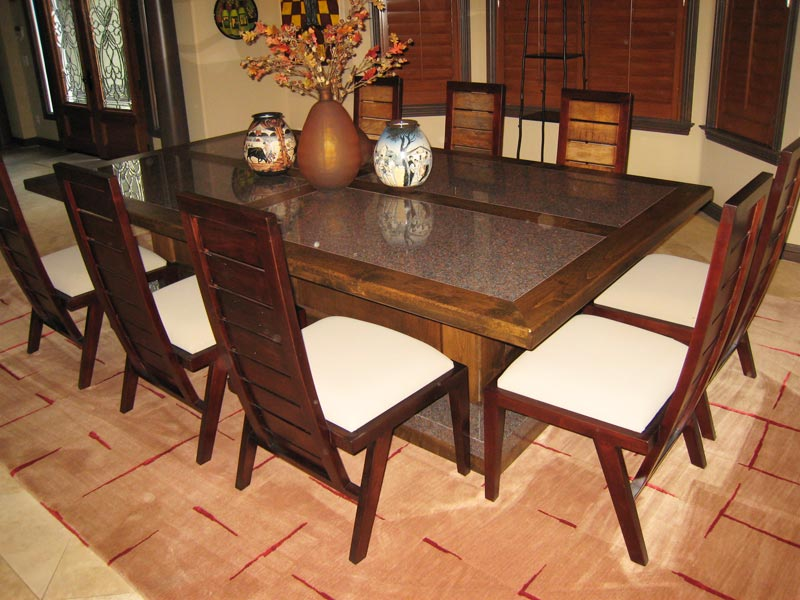 28 custom dining room tables custom designed dining for Custom dining room tables
