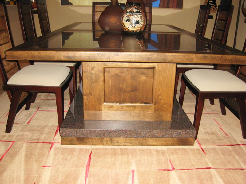 Custom dining room table for Custom dining room tables