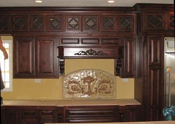 Glass Door Inerts Kitchen Cabinets Darryn 39 S Custom Cabinets