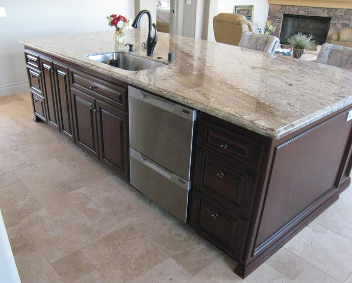 Kitchen Island Outlet Box