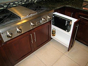 Beau Stove Cabinet