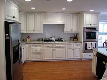 Custom White Kitchen custom kitchen cabinets from darryn's custom cabinets serving