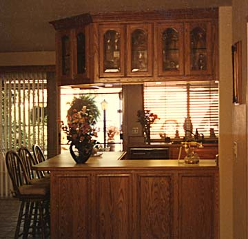 kitchen custom cabinets, wood