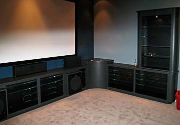 Entertainment Centers | Built In TV Cabinets | Darryn's ...