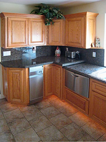 Custom Kitchen Cabinets From Darryn S Serving