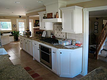 end cabinet kitchen custom kitchen cabinets from darryn s custom cabinets 15157